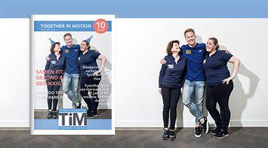 Cover 10 jaar TiM Fysiotherapie - uitgelicht