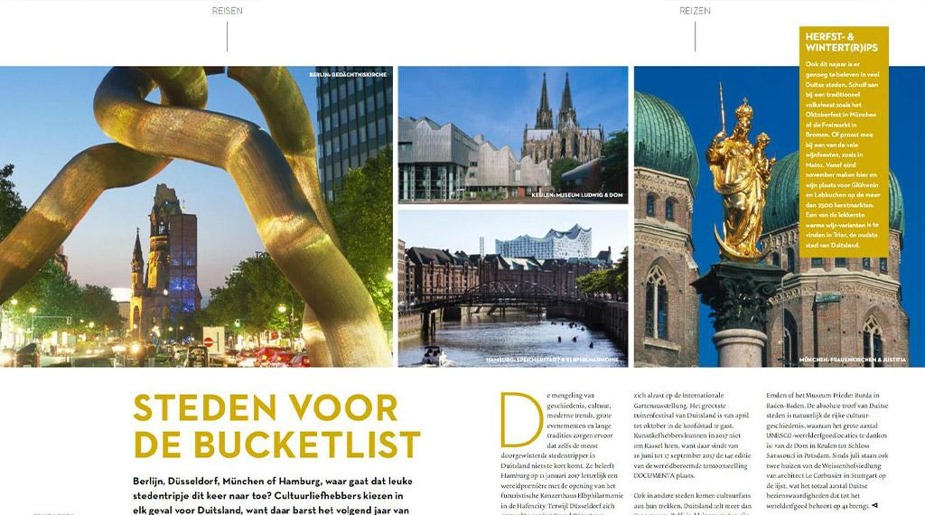 Steden voor bucketlist Duitsland - Artikel DNKH